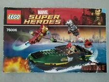 LEGO 76006-1 Super Heroes Iron Man Extremis Sea Port Battle ~ Free Shipping