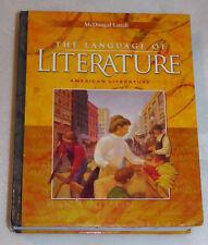 McDougal Littell Language American Literature English 2006 HC Student Textbook