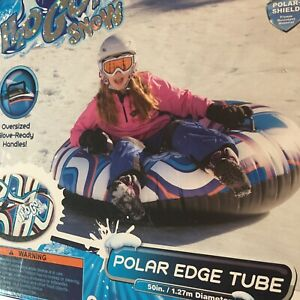 "NEW 50"" Snow Tube H2OGO Polar-Shield Oversized Handles Bestway Polar Edge tube"