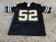 Green Bay Packers Clay Matthews Black Jersey Youth Size Medium 8-10
