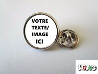 PINS PIN'S BADGE PERSONNALISE CUSTOM CUSTOMISED FINITION OR OU ARGENT
