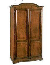 Armadio 2 ante  in arte povera legno massello classico camera da letto classica