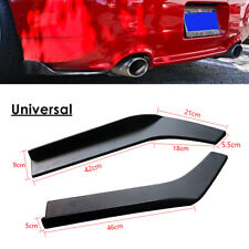 Universal Car Rear Bumper Lip Winglet Side Skirt Extensions Splitters Protection