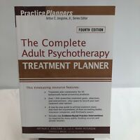 PracticePlanners Ser.: The Complete Adult Psychotherapy Treatment Planner by L.