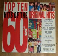 Various ‎– Top Ten Hits Of The 60's Vinyl LP Compilation 33rpm 1988 MFP 5822