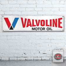 VALVOLINE GARAGE Banner  –  heavy duty for workshop 1700 x 430mm