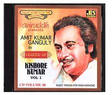 Hindi Karaoke CD Amit Kumar Ganguly in Legend Of Kishore Kumar Vol 1 Aniruddh