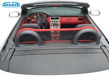 Mercedes Benz SLK R170 Windschutz + Tasche | Rot Leder | 1996-2004 | Komfort NEU