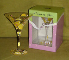"""Martini Glass by """"A Touch of Glass"""""""
