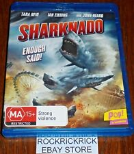 SHARKNADO BLU-RAY (TARA REID, IAN ZIERING AND JOHN HEARD)