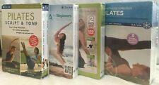 4 Gaiam Box sets Yoga for Beginners II Pilates Abs Lower Body workout easy