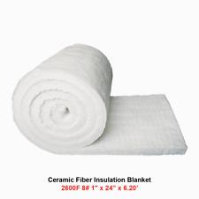 1 Ceramic Fiber Insulation Blanket 2600f 8 High Temp Insulation 24 X 620