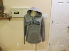 Under Armour Gray men's women's Small Hoodie Hooded Sweat Shirt pull over S draw