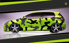 Camouflage Aufkleber Set Cyber Pixel Autotattoo Auto Sticker Tuning JDM 7.2109