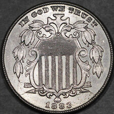 1883 Shield Nickel 5C - Gem Uncirculated