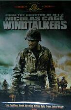 WINDTALKERS (2002) Nicolas Cage Adam Beach Mark Ruffalo SEALED
