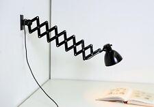 Große IKA Scherenlampe Bauhaus Lampe - restauriert