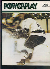 1977/78 Houston Aeros Quebec Nordiques World Hockey WHA  hockey program MBX93