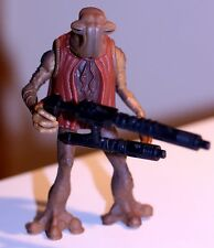 1996 Star Wars POTF MOMAW NADON HAMMERHEAD w/double barrel laser cannon & coat