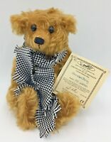 Deans Rag Book Company Teddy Bear Grandpa Terry Limited Edition Collectable