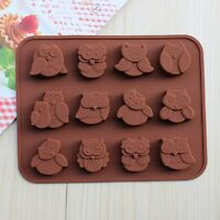 12er Silikon Kuchen Pralinen Backform Form Schokolade Konfekt Trüffel Muffin