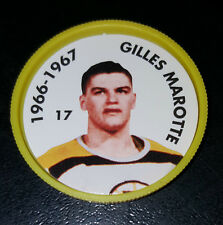 GILLES MARCOTTE NO. 17 1966-67 BOSTON BRUINS 1995-96 PARKHURST HOCKEY COIN
