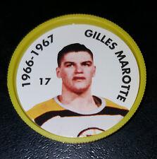 GILLES MARCOTTE NO. 17 1966-67 BOSTON BRUINS 1995-96 PARKHURST HOCKEY COIN