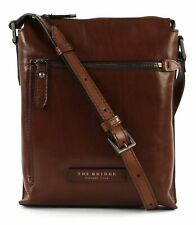 THE BRIDGE Kallio Crossover Bag M Umhängetasche Tasche Marron​e Braun Neu