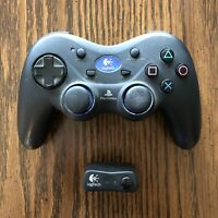 Logitech PlayStation 2 PS2 Cordless Action Controller Model# G-X2D11 + Receiver