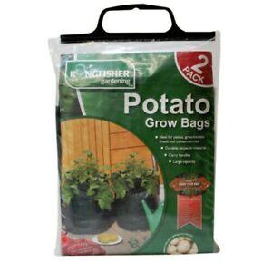 2 x Potato Grow Bag Vegetable Seed Planters  Sack Garden Patio Outdoor