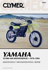 Clymer Repair Service Shop Manual Vintage Yamaha YZ 100,125,175,250,400,465,490