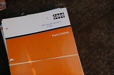 CASE MAXI-SNEAKER SERIES B Trencher Parts Manual book catalog spare ditcher plow