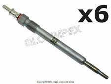Mercedes E320 CDI 05-06 Glow Plug Set of 6 BERU OEM +1 YEAR WARRANTY