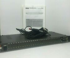 RANE RA 27 Real Time Analyzer (RTA) System w/ Rane Mic 1 Condenser Mic & Manuals
