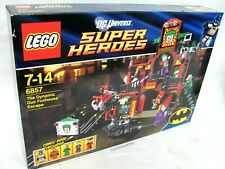 LEGO® 6857 Batman Robin die Dynamisch Duo Funhouse Escape Neu & OVP 5 Figuren´12