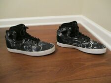 Used Worn Size 12 Vans OTW Collection Skateboard Shoes Navy Black White