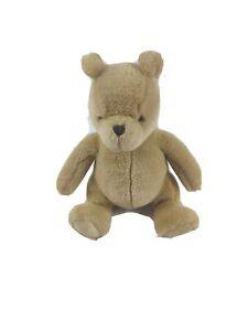"Classic Pooh Plush Stuffed Bear Disney Gund 7.5"" Sitting Collectible Childs Toy"