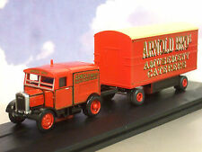 Oxford Diecast 1/76 Scammell Showtrac & Dodgem Trailer Arnold Bros.Amusements