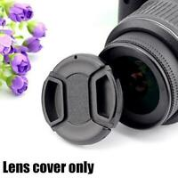 55mm Snap Front Camera Lens Cap Cover w/string Lens Protect Cover V7O8