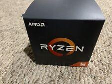 New listing Amd Ryzen 5 2600 3.9Ghz Maxboost Processor /w Cooler + 4Gb Crucial 2666mhz Ram