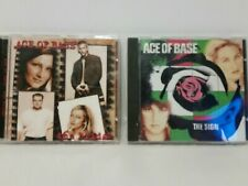 """The Sign by Ace of Base (CD, Oct-1993, Arista) And """"The Bridge """" lot of 2 cds"""