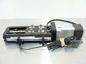 THK KR33 LM Linear Screw Slide Actuator W/ Beckhoff AS1020-0000 Stepper Motor