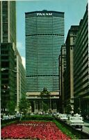 Vintage Postcard - Pan Am Building Grand Central Station New York NY #1744