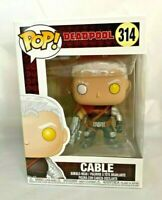 Deadpool FUNKO POP Cable Vinyl NEU 314