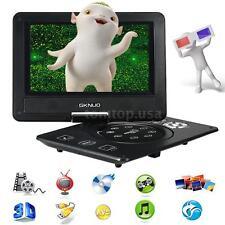 "9"" Portable DVD Player with U Drive Game FM TV USB &MC Card port Multimedia Q7FX"