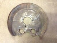 03 04 05 06 07 08 09 10 11 SAAB 9-3 REAR RIGHT BRAKE ROTOR DUST SHIELD COVER