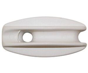 O'Briens ELECTRIC FENCING HIGH STRAIN INSULATORS 5Pcs White *Australian Brand
