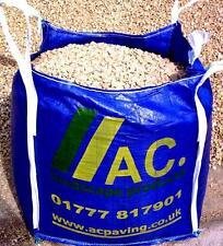 Cotswold Buff Chippings/Stone 20mm Bulk Bag Free membrane Free del 25mile radius