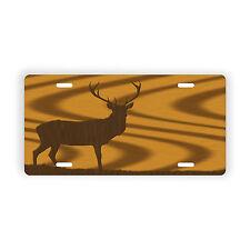 Deer Silhouette Vehicle Vanity License Plate