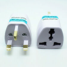 European EU US USA AU to UK Travel Power Charger Adapter Plug Outlet Converter